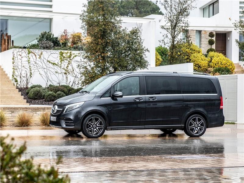 Mercedes-Benz V-Klasse 2020 вид сбоку