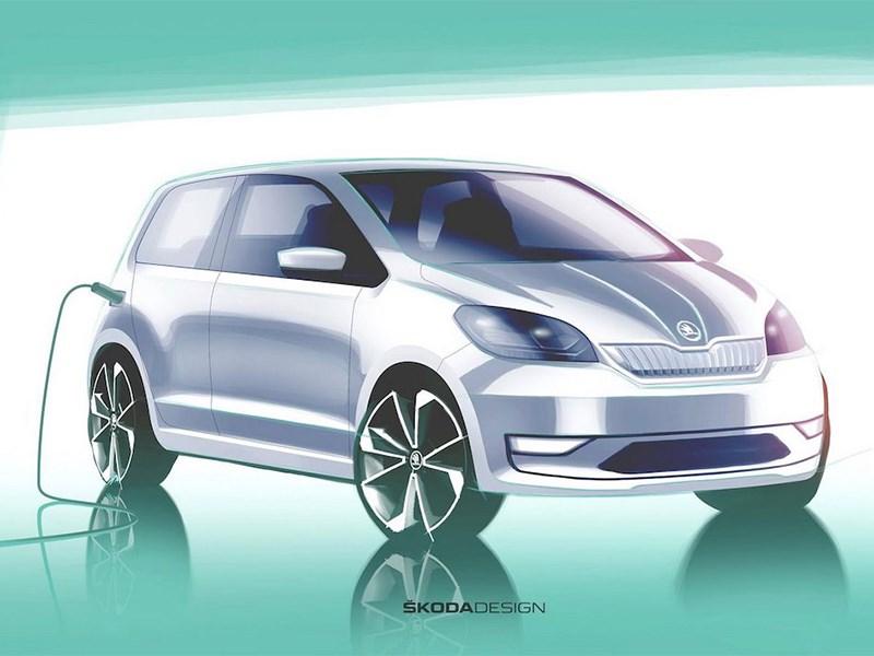 Skoda готовится представить свой первый электромобиль Фото Авто Коломна