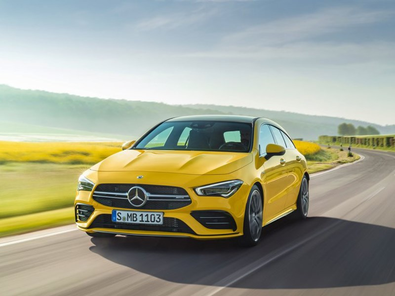 Mercedes-Benz CLA Shooting Brake обзавелся AMG-версией