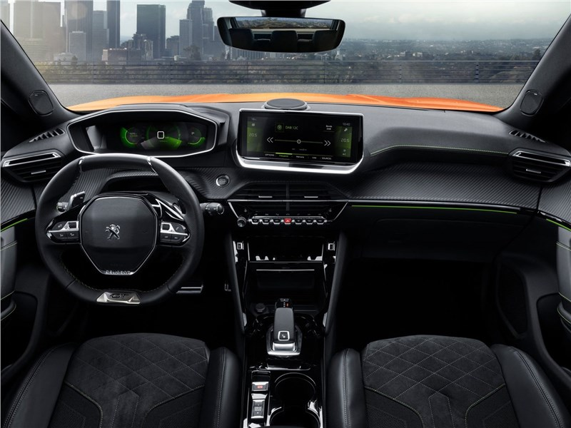 Peugeot 2008 2020 салон
