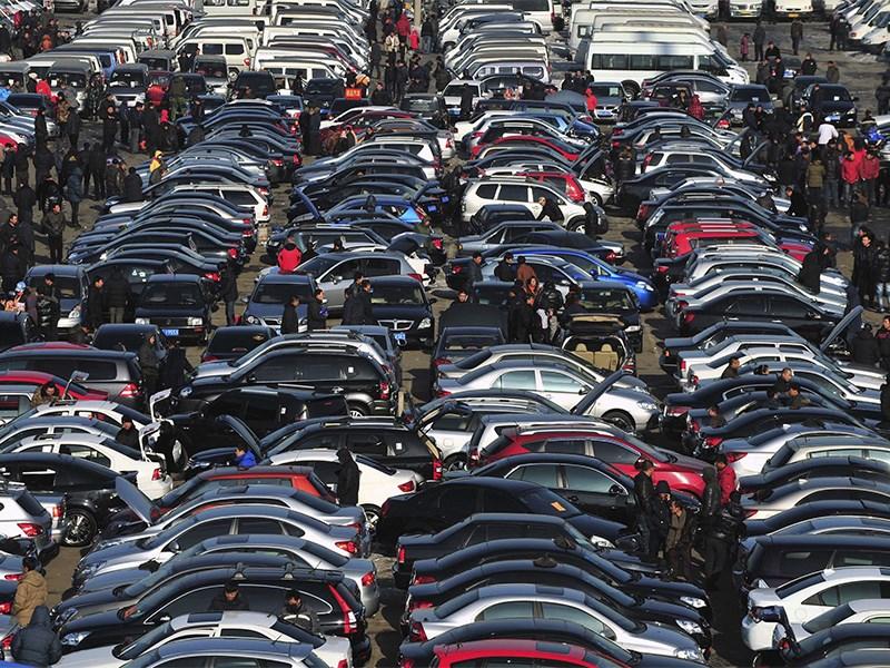 Украина запретила российские автомобили Фото Авто Коломна