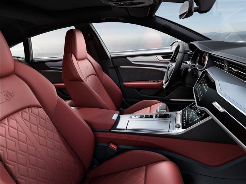 Audi S7 Sportback TDI 2020 передние кресла