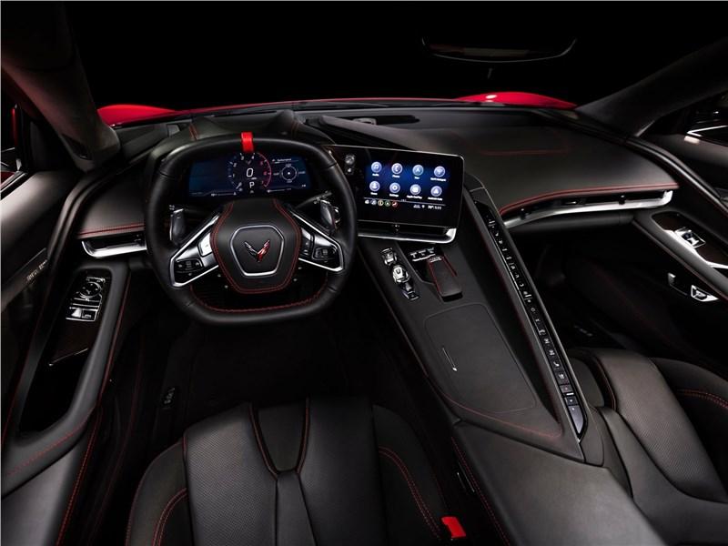 Картинки по запросу Chevrolet Corvette C8 Stingray 2020 салон