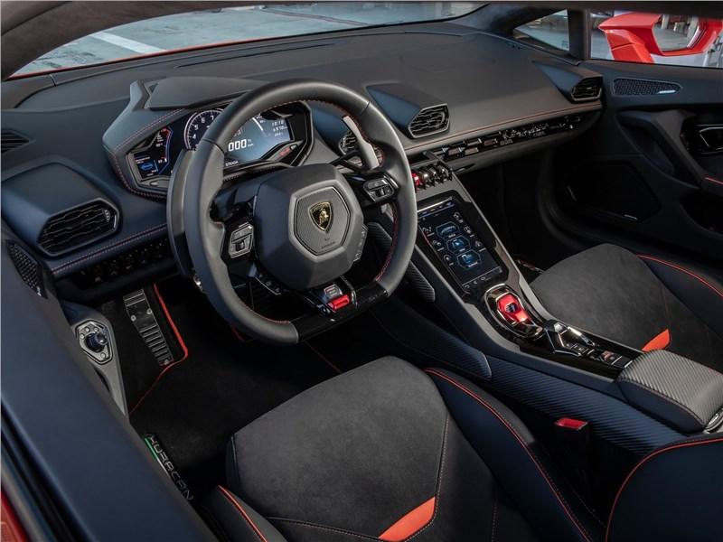 Lamborghini Huracan Evo 2019 салон