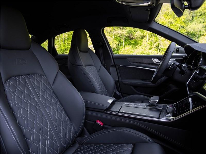 Audi S6 2020 передние кресла