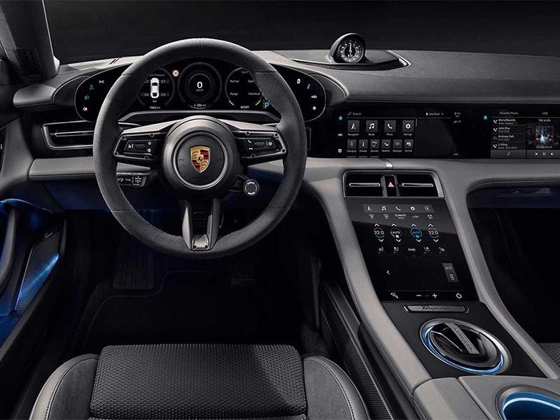 Porsche Taycan вскрылся