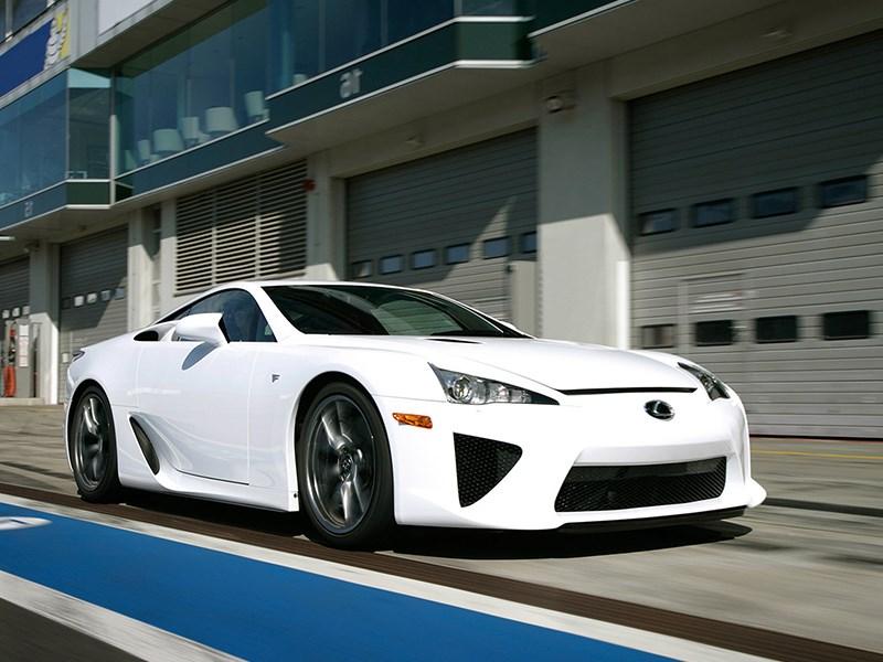 Lexus выпустит преемника LFA Фото Авто Коломна