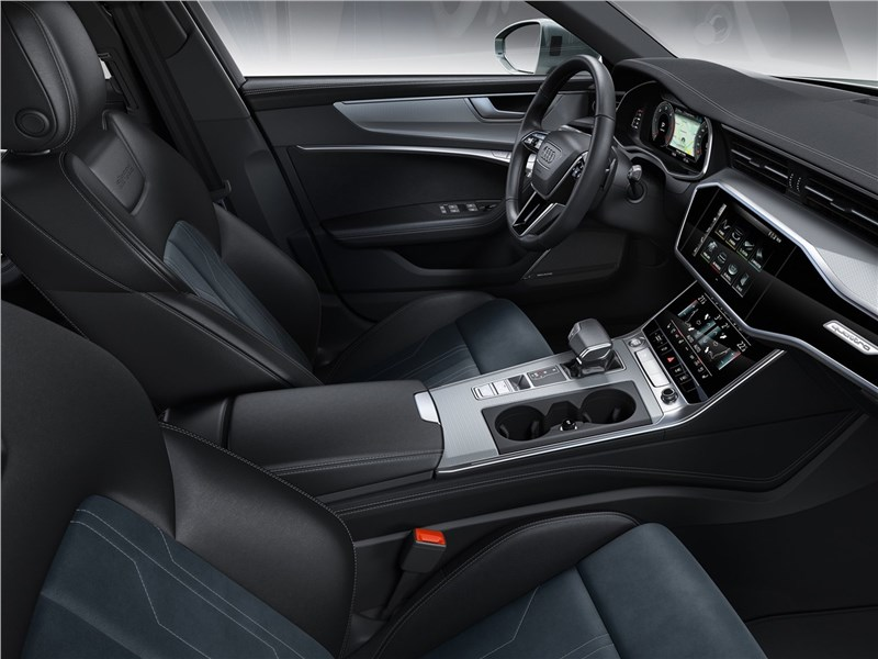 Audi A6 allroad quattro 2020 передние кресла