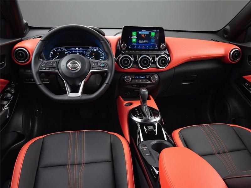 Nissan Juke 2020 салон