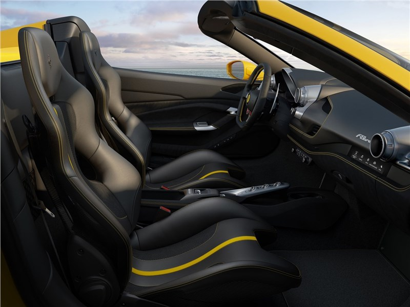 Ferrari F8 Spider 2020 кресла