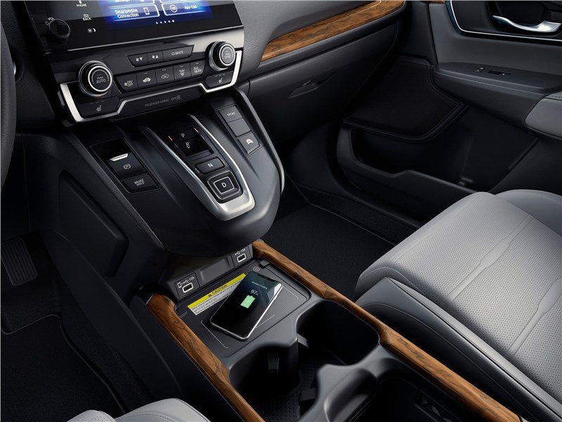 Honda CR-V 2020 центральный туннель