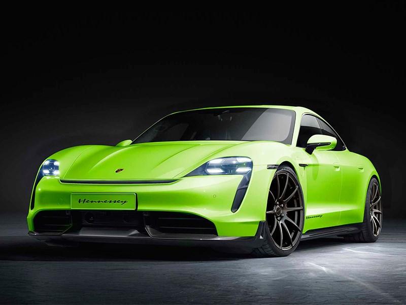 Электрический Porsche станет молнией