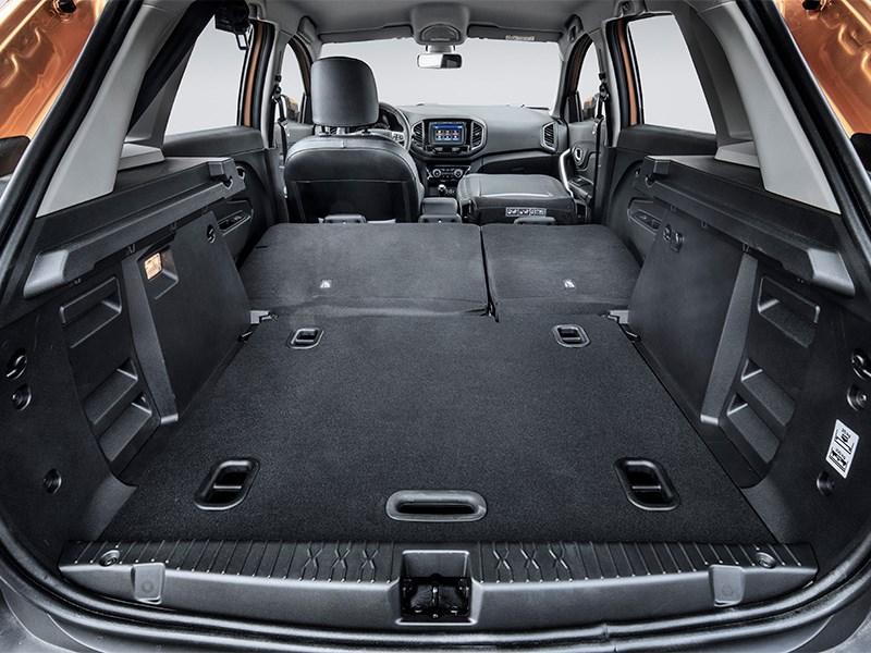 Lada Xray Cross 2019 багажное отделение