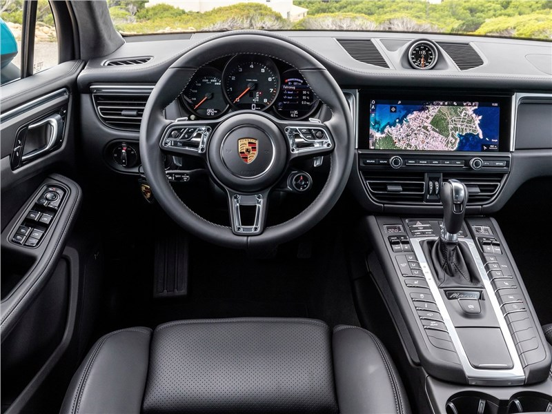 Porsche Macan 2019 салон
