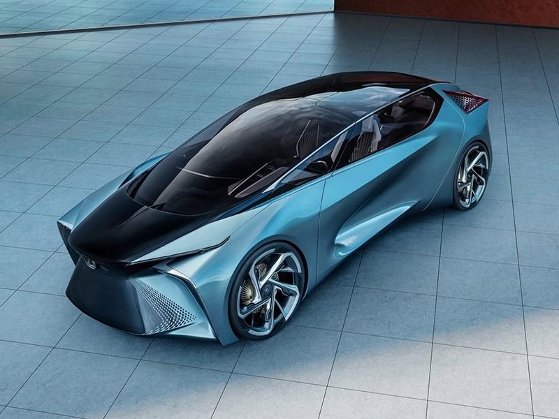 Lexus представил автомобиль будущего