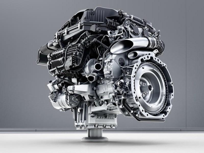 Benz S-Class 2018 засветился фактически без камуфляжной защиты