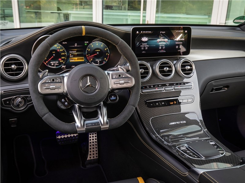Mercedes-Benz GLC63 S AMG 2020 салон
