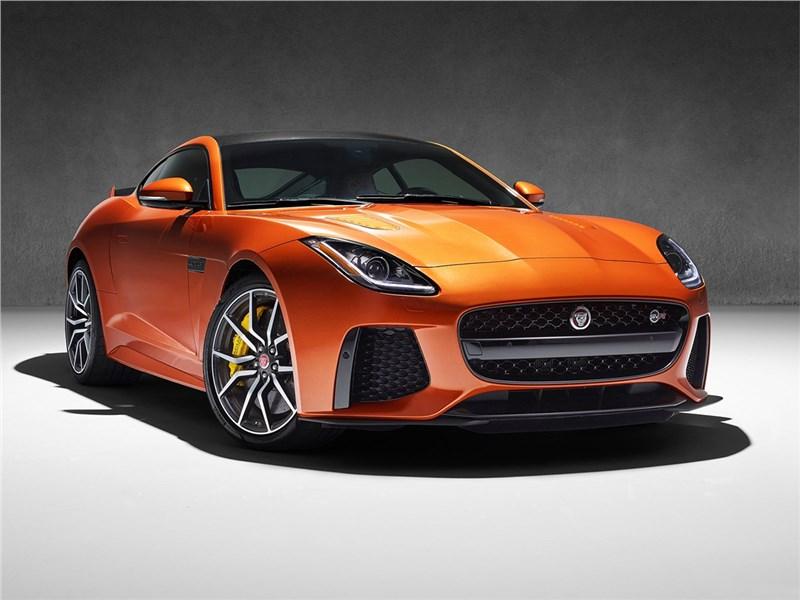 Jaguar F-Type SVR Coupe 2016 Больше чем достаточно