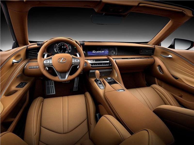 Lexus LC 500 Convertible 2021 салон