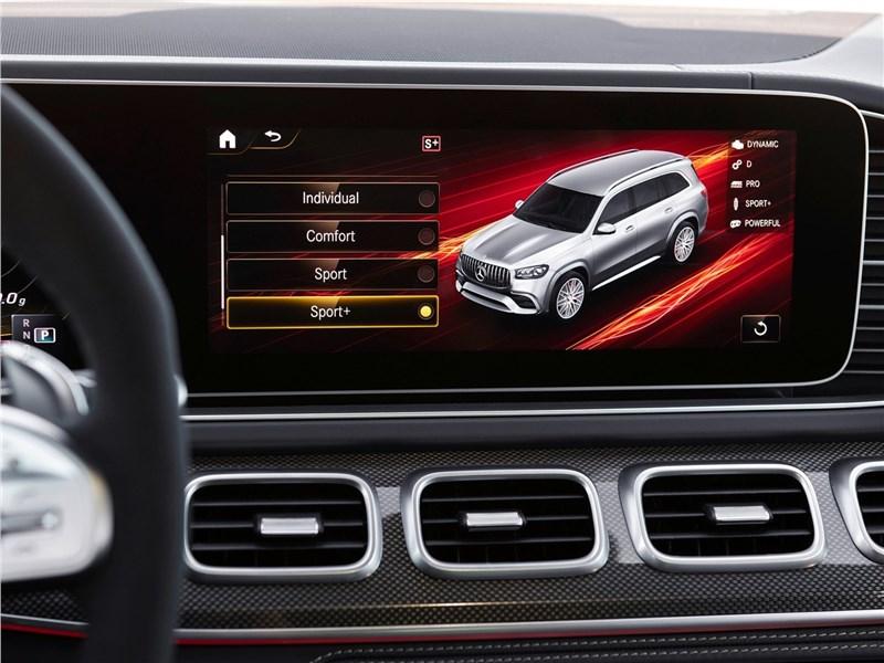 Mercedes-Benz GLS63 AMG 2021 монитор