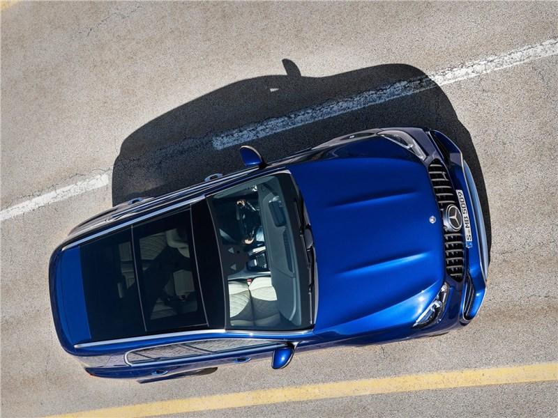 Mercedes-Benz GLE63 S AMG 2021 вид сверху