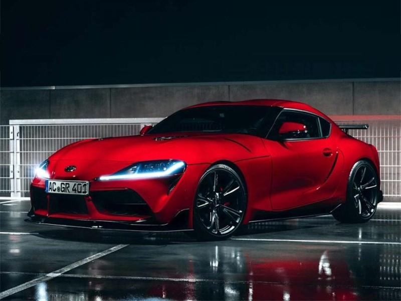 Ателье AC Schnitzer «прокачало» новую Toyota Supra Фото Авто Коломна