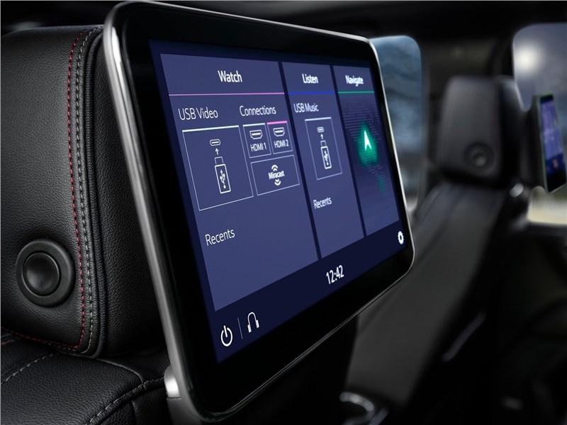 Chevrolet Tahoe 2021 монитор