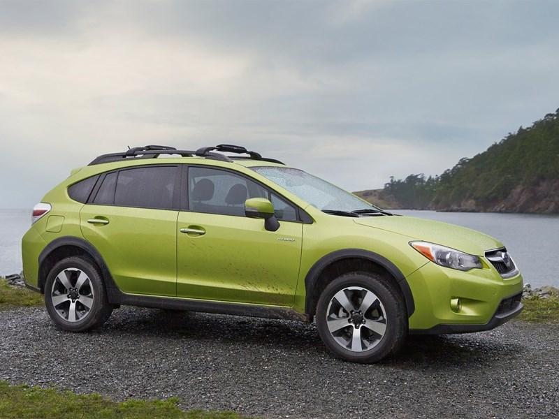 Первый гибридный автомобиль Subaru вышел на внутренний рынок