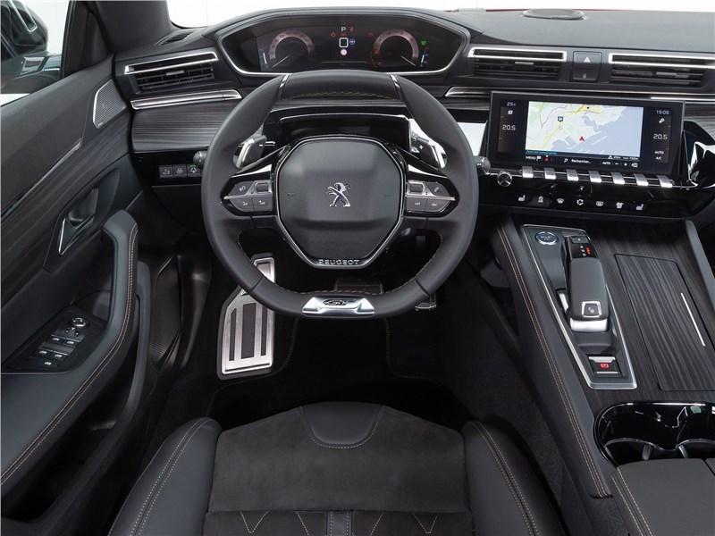 Peugeot 508 2019 салон
