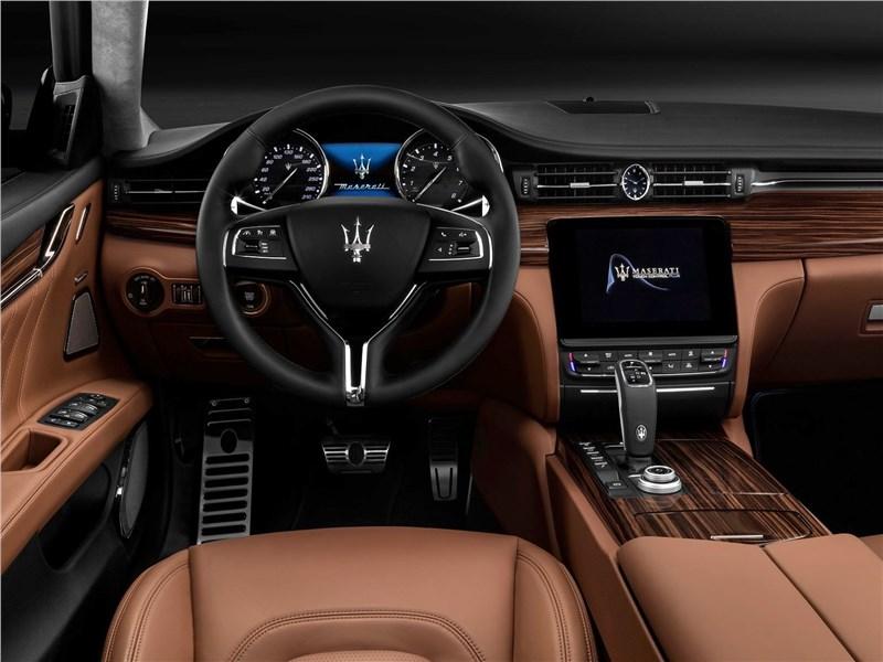 Maserati Quattroporte 2019 салон