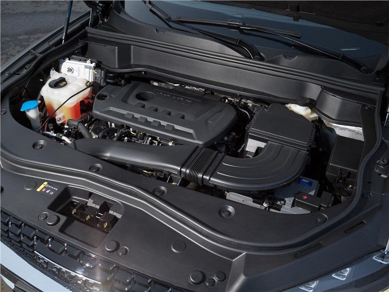 Haval F7X 2020 двигатель