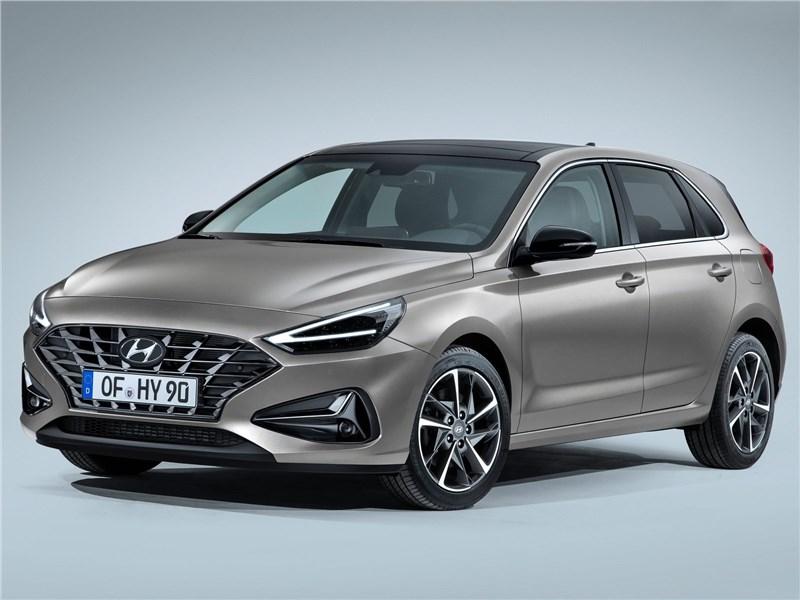 Hyundai i30 2020 вид спереди