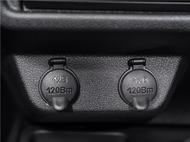Lada 4x4 2019 розетки