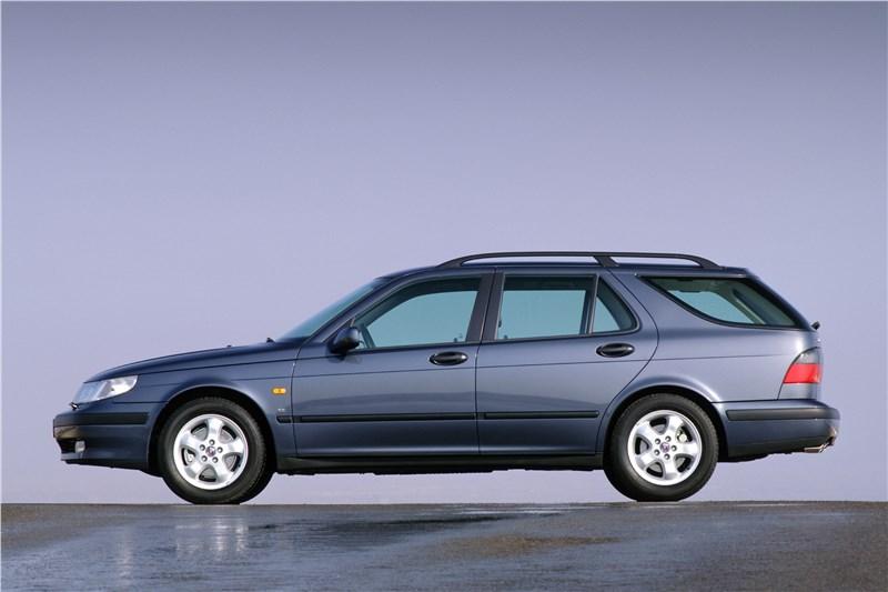 Saab 9-5 2001 универсал вид слева