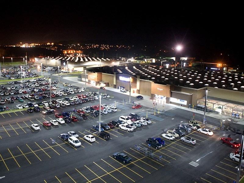 Найдено идеальное место на парковках супермаркетов