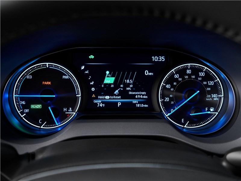 Toyota Venza 2021 приборная панель