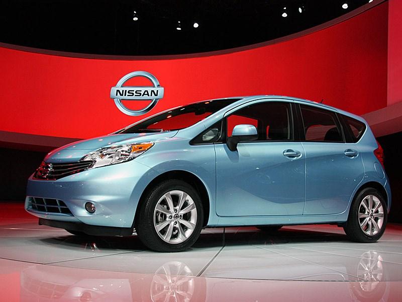 Nissan вынужден отозвать 13 тысяч хэтчбеков Note