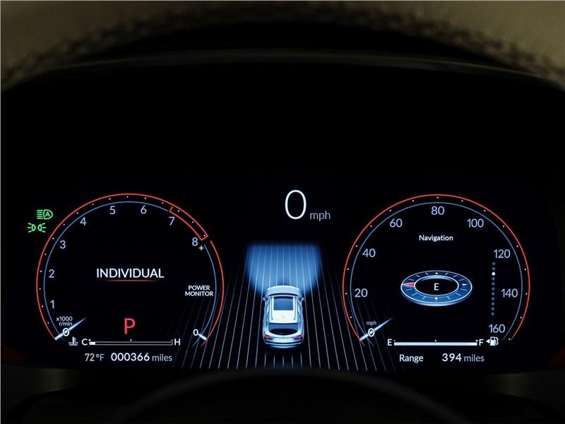 Acura MDX Concept (2020) приборная панель