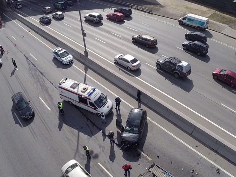В Москве назвали самую опасную трассу по числу ДТП со стоящими машинами