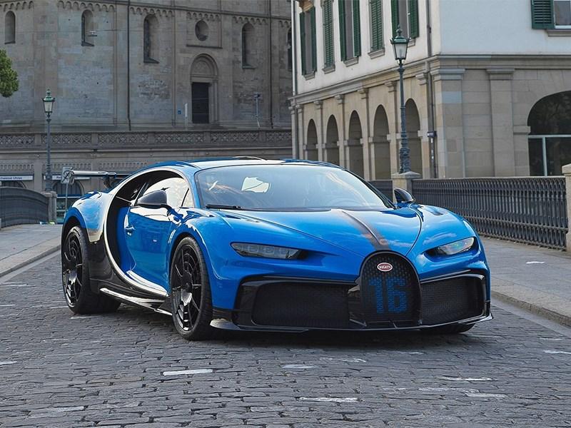 Bugatti запатентовала в России 1500-сильный гиперкар