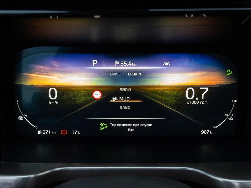 Kia Sorento (2021) приборная панель