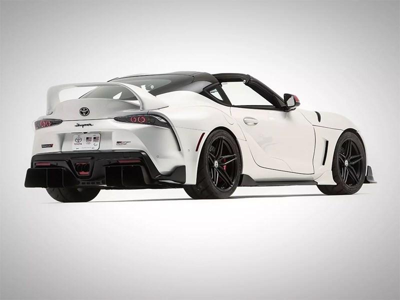 Toyota Supra получила кузов Targa