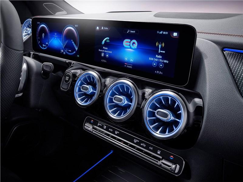 Mercedes-Benz EQA (2022) приборная панель