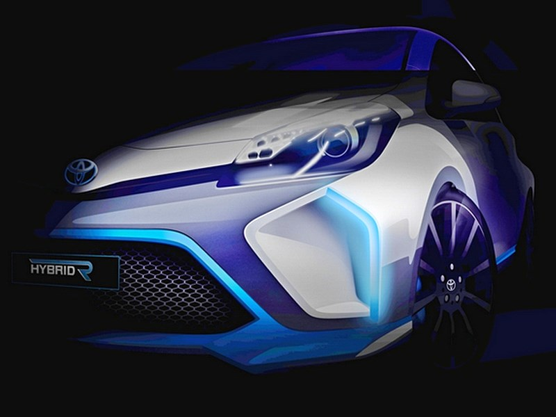 Toyota рассказала о гибридном концепт-каре, который дебютирует в сентябре