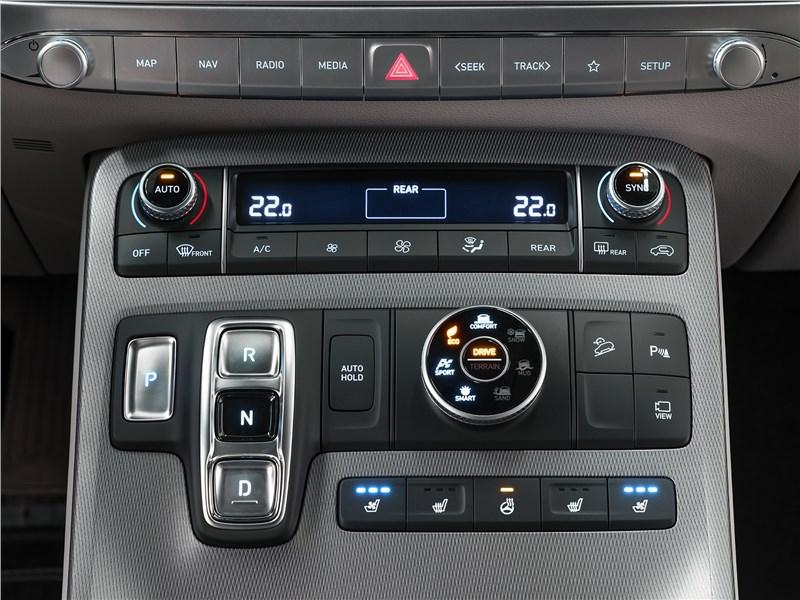 Hyundai Palisade (2020) центральная консоль