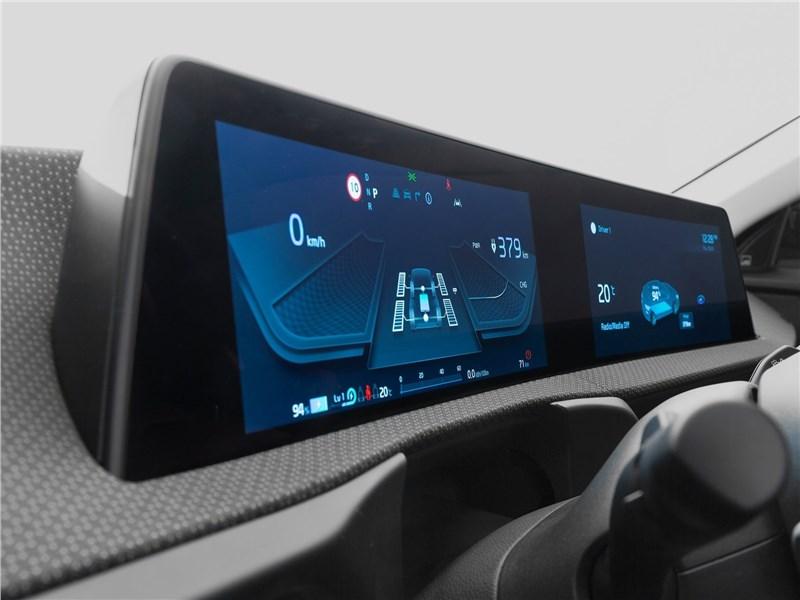 Kia EV6 (2022) центральная консоль