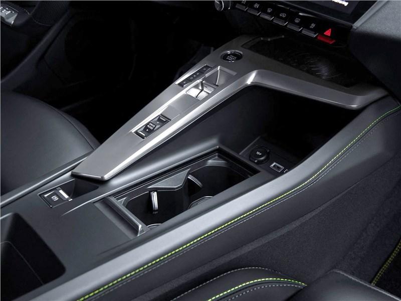 Peugeot 308 (2022) центральный тоннель
