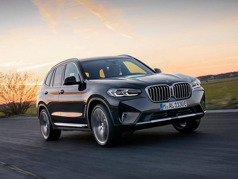 Представлены обновленные BMW X3 и X4