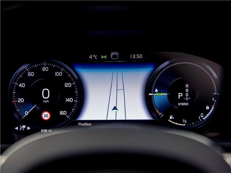 Volvo S90 (2020) приборная панель