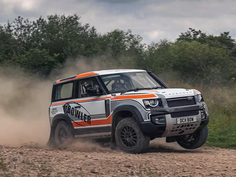 Land Rover Defender превратили в раллийный болид